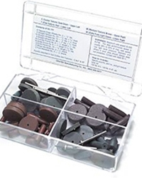 Cratex #777 Rubberized Assortment 80 Pieces